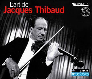 Jacques Thibaud / ジャック・ティボー